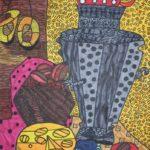 Заручевская Полина, 8 лет. Пасхальный натюрморт. ДШИ № 5 Рапсодия г.Архангельск, преп.-Игушкина Е.В.