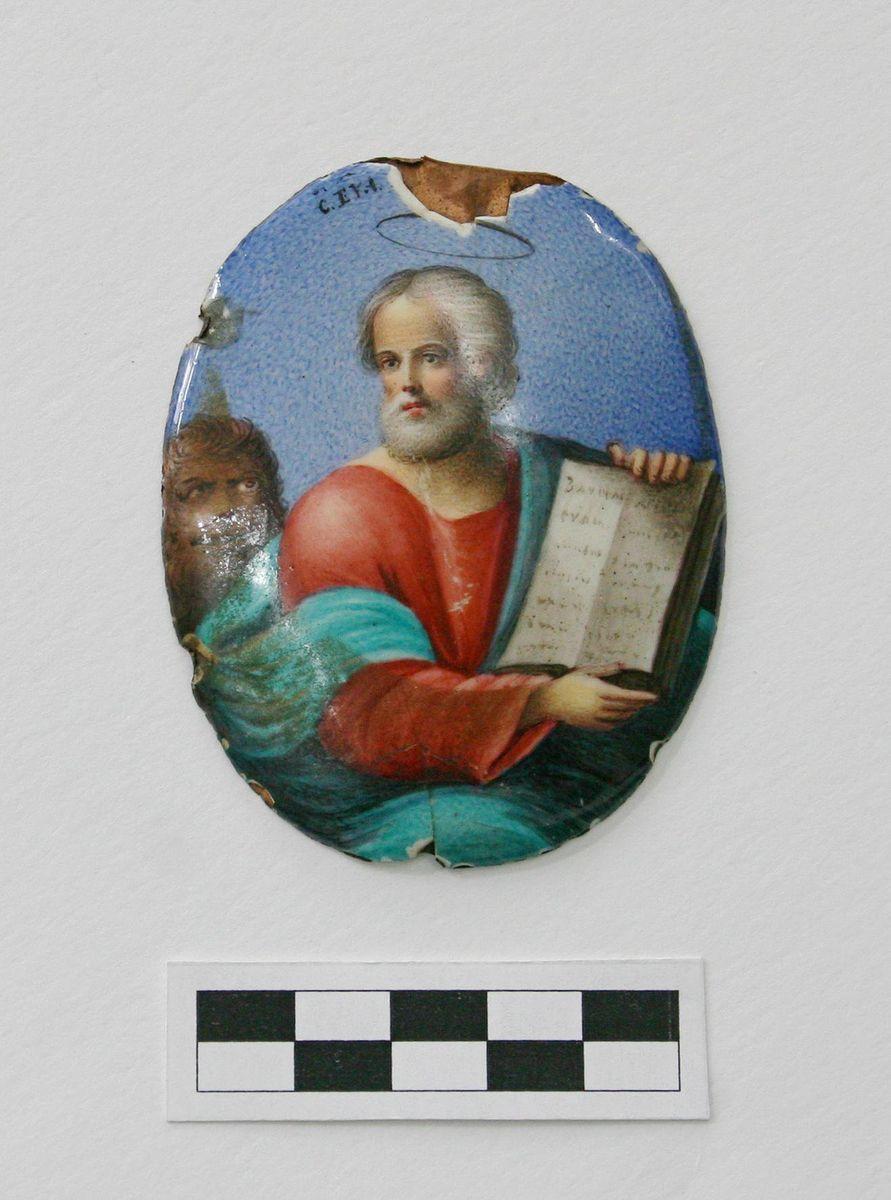 АОКМ КП-2345 Р-41 Дробница с изображение евангелиста