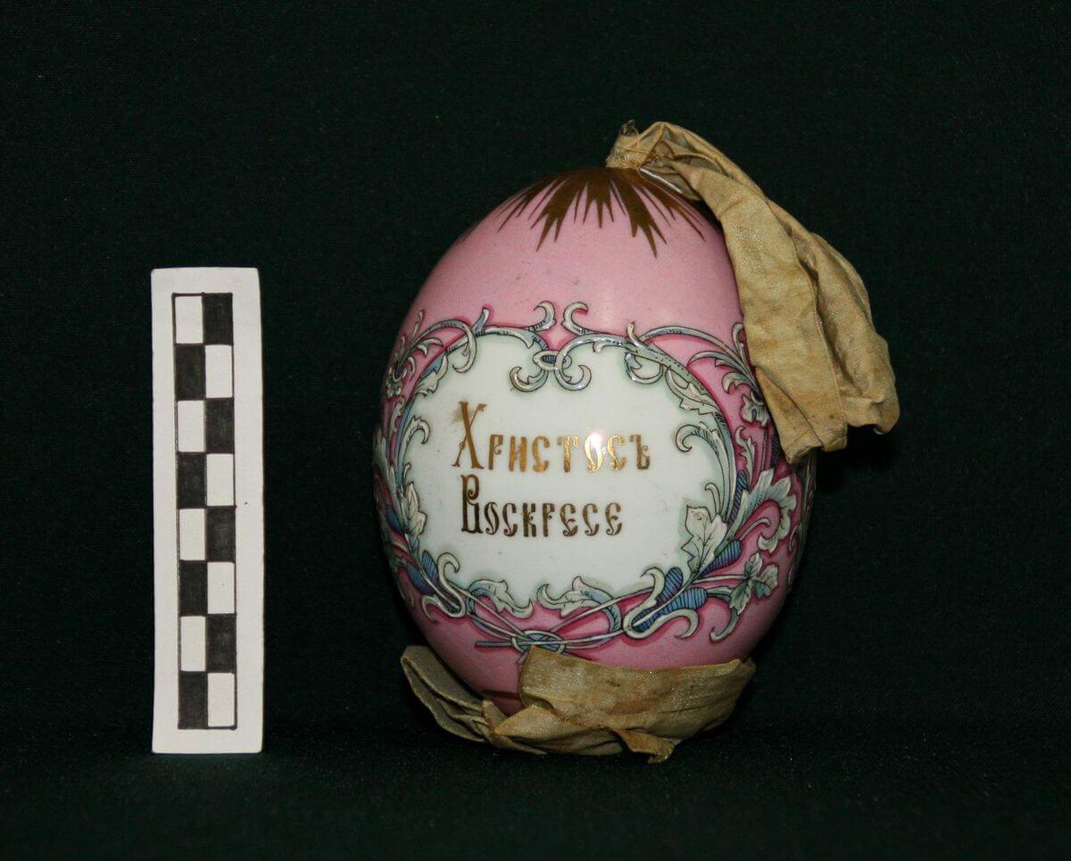 АОКМ КП-38753 Яйцо пасхальное 'Христосъ Воскресе'