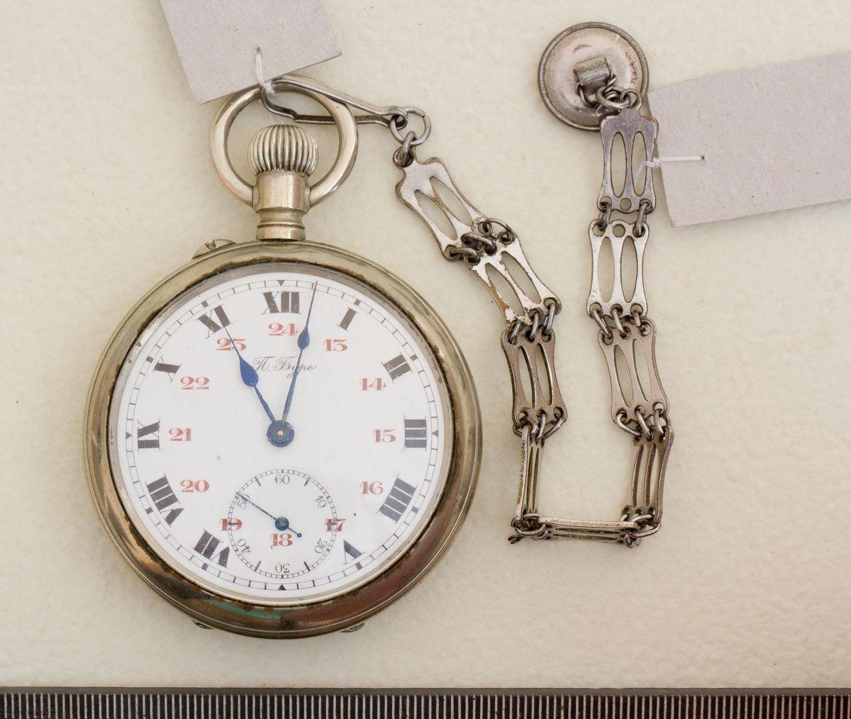 АОКМ КП-50677-1 Пр-179 Часы карманные 'Павелъ Буре'