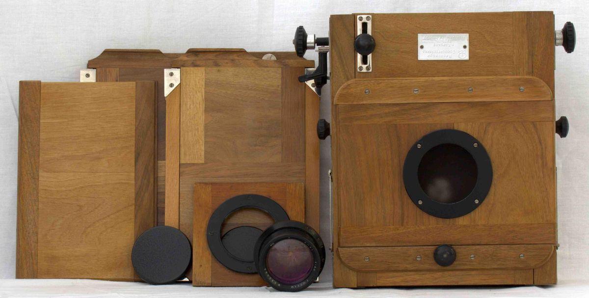 АОКМ КП-52124 Фотоаппарат 'Фотокамера Дорожная' ('ФКД 13х18') в кофре
