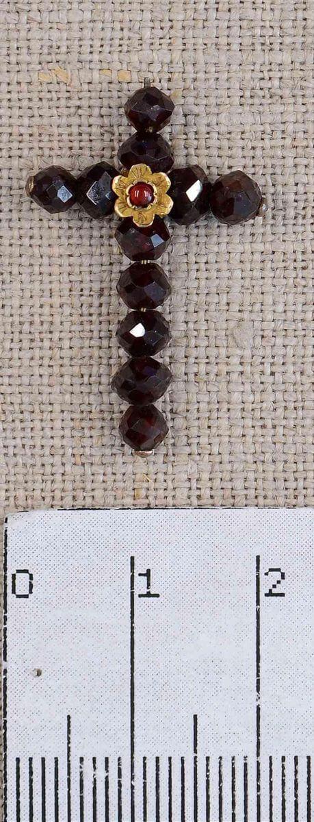 АОКМ КП-52850 Крест гранатовый от четок