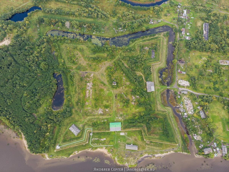 Новодвинская крепость сегодня. Фото Сергея Яковлева.