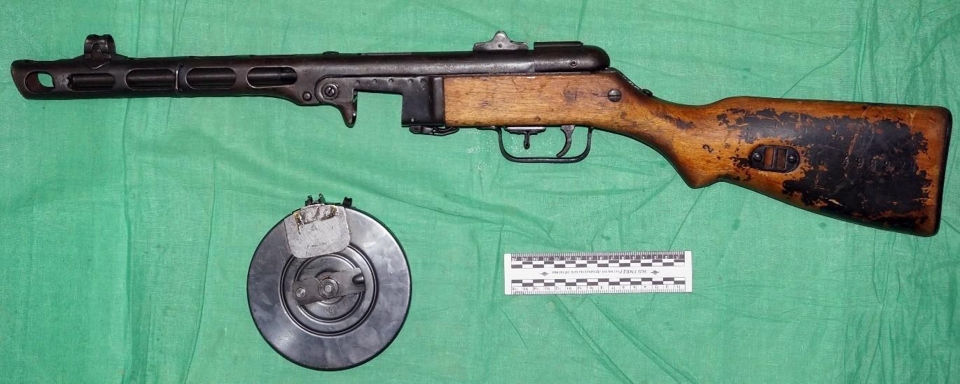 АОКМ КП-29437 Пистолет-пулемет образца 1941 года системы Шпагина (ППШ-41). БЛ 235.